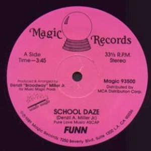 Single Cover Funn - School Daze