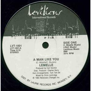 Single Cover Lemelle - A Man Like You