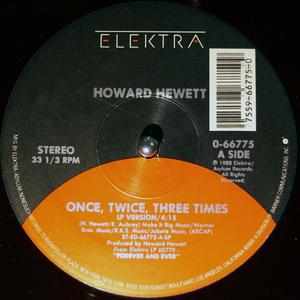 Single Cover Howard - Once Hewett