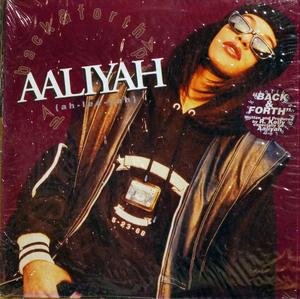 Single Cover Aaliyah - Back & Forth