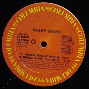 Single Cover Rainy - Indian Giver Davis