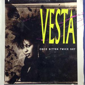 Single Cover Vesta - Once Bitten Twice Shy Williams