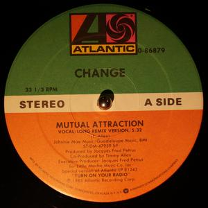 Single Cover Change - Mutual Attraction