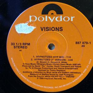 Single Cover Visions - Hypnotized