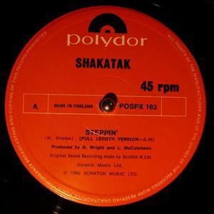 Single Cover Shakatak - Steppin'
