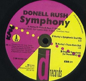 Single Cover Donell - Symphony Rush
