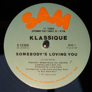 Single Cover Klassique - Somebody's Loving You