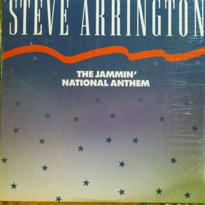 Single Cover Steve - The Jammin'  National Anthem Arrington