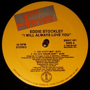 Single Cover Eddie - I Will Always Love You Stockley