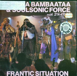 Single Cover Afrika - Frantic Situation Bambaataa