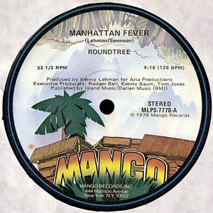 Single Cover Round Tree - Manhattan Fever