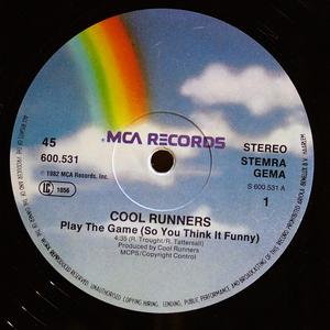 Single Cover Cool Runners - Play The Game (so You Think It Funny)
