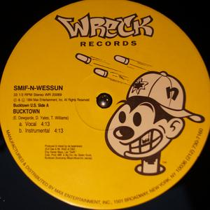 Single Cover Smif-n-wessun - Bucktown