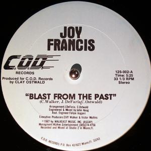Single Cover Joy - Blast From The Past Francis