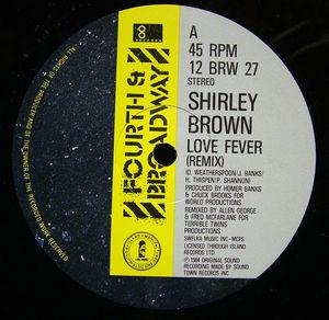 Single Cover Shirley - Love Fever Brown
