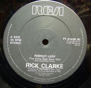 Single Cover Rick - Perfect Lady (extra Beat Boys Re-edit) Clarke