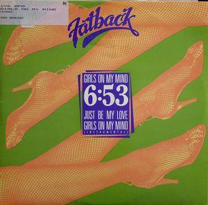 Single Cover Fatback - Girls On My Mind