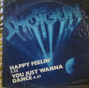 Single Cover Shotgun - Happy Feelin'