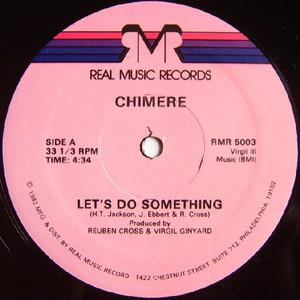 Single Cover Chimere - Let's Do Something