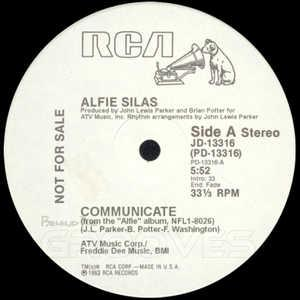 Single Cover Alfie - Communicate Silas