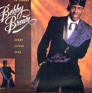 Single Cover Bobby - Every Little Step Brown