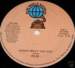 Single Cover Pulse - Shake What You Got