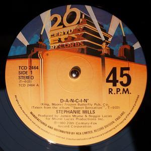 Single Cover Stephanie - D-a-n-c-i-n' Mills