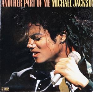 Single Cover Michael - Another Part Of Me Jackson