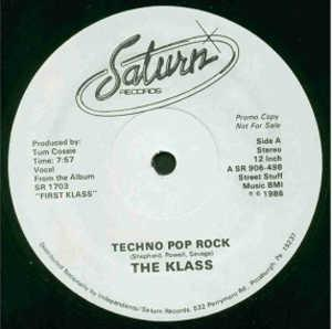 Single Cover The - Techno Pop Rock Klass