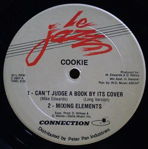Single Cover Cookie - Can't Judge A Book By It's Cover