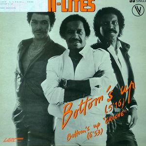 Single Cover The - Bottom's Up Chi-lites