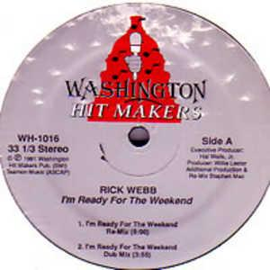 Single Cover Rick - I'm Ready For The Weekend (remix) Webb