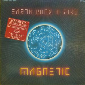 Single Cover Wind & Fire - Magnetic Earth
