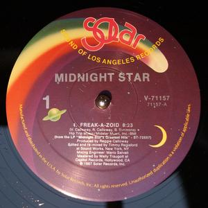 Single Cover Midnight Star - Freak-a-zoid