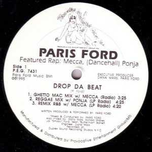 Single Cover Paris - Drop Da Beat Ford