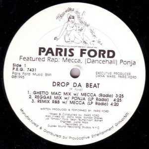 Single Cover Paris - Drop Da Beat Ford