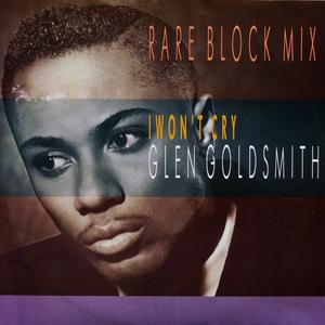 Single Cover Glen - I Won't Cry Goldsmith