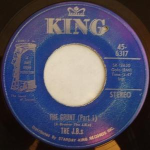Single Cover The - The Grunt J. B.'s