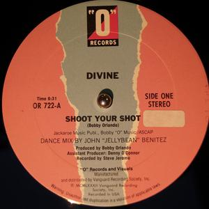 Single Cover Divine - Shoot Your Shot