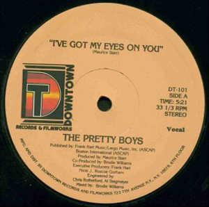Single Cover The - I've Got My Eyes On You Pretty Boys