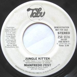 Single Cover Manfredo Fest - Jungle Kitten