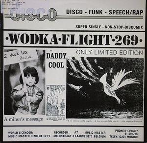Single Cover Daddy Cool - Wodka Flight 269