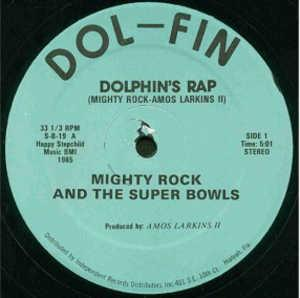 Single Cover Mighty Rock And The Super Bowls - Dolphin's Rap
