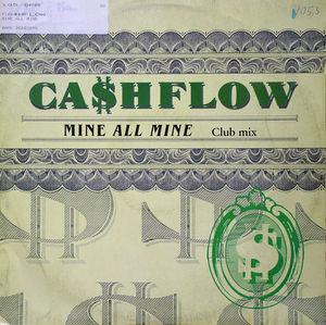 Single Cover Ca$hflow - Mine All Mine