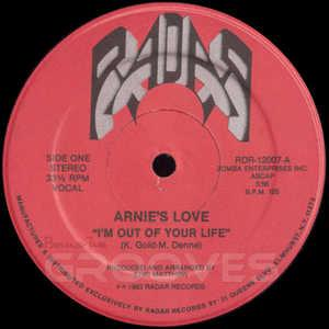 Single Cover Arnie's Love - I'm Out Of Your Life