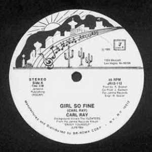 Single Cover Carl - Girl So Fine Ray
