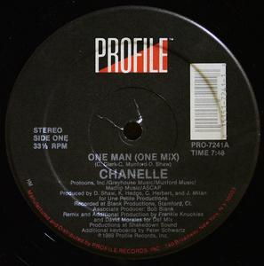 Single Cover Chanelle - One Man