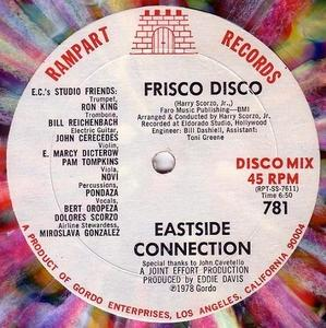 Single Cover Eastside Connection - Frisco Disco