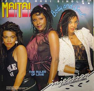Single Cover Mai Tai - Body And Soul