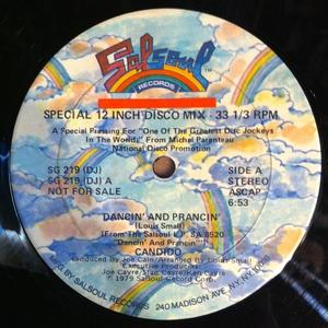 Single Cover Candido - Dancin' And Prancin'